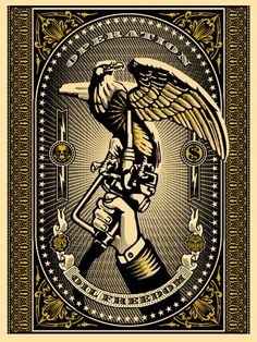Shepard Fairey - Operation Oil Freedom