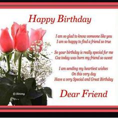 I Love My Best Friend Happy Birthday Cards For Friends Wishes