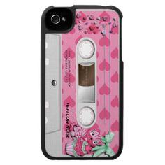 Girly kitten iphone 4 case