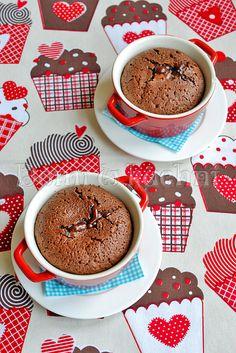 Suflet czekoladowy z płynnym środkiem   Domi w kuchni