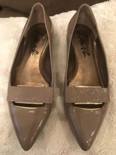 73191e9233fdbd Lanvin Patent Pointed Buckle Flat Grey color  fashion  clothing  shoes   accessories  womensshoes  flats (ebay link)