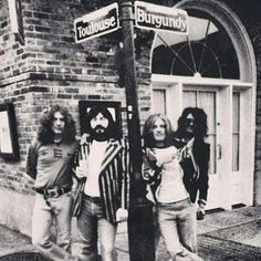 Awesome picture of Led Zepplin,French Quarter, New Orleans....