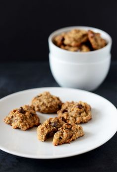 Vegan Gluten Free Chocolate Chip Breakfast Cookies!