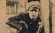 Andy Warhol silkscreen of actor Marlon Brando