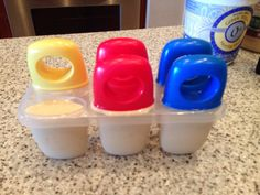 Home Made Ice Cream Pops - Lori Miggins Fitness - Fitness, Nutrition, Family and Organization