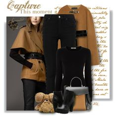How To Wear Camel and black - always chic Outfit Idea 2017 - Fashion Trends Ready To Wear For Plus Size, Curvy Women Over 20, 30, 40, 50