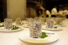 Appetizers for the Chaine des Rotisseurs event at Chamainde Resort