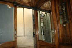 Ascensor de la Casa Milà (La Pedrerà) Casa Mila La Pedrera, Barcelona, Antoni Gaudi, Armoire, Advertising, Mirror, Room, Furniture, Home Decor