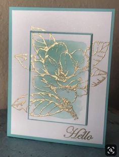Best 12 Stampin' Up! good morning magnolia 2019 Stampin' Up! good morning magnolia The post Stampin' Up! good morning magnolia 2019 appeared first on Scrapbook Diy. Making Greeting Cards, Greeting Cards Handmade, Tarjetas Stampin Up, Karten Diy, Magnolia Stamps, Embossed Cards, Stamping Up Cards, Watercolor Cards, Sympathy Cards