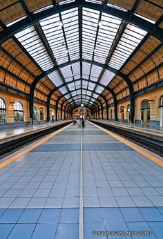 Piraeus train station in Greece Attica Greece, Athens Greece, My Athens, Greece Travel, Beautiful Islands, Abandoned Places, Travel Around, The Good Place, Places To Visit