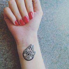 My Star Wars wrist tattoo ❤