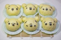 Karenwee's Bento Diary: Winnie The Pooh Deco Sweet Potatoes Steamed Buns