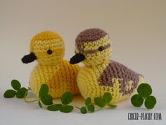 Darling Duckling Amigurumi | Free Crochet Pattern at Ginger Peachy