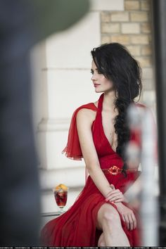 actrice française eva green on red dress french actress Jenifer Lopes, Vanessa Ives, Actress Eva Green, Green Web, French Actress, Up Girl, Mannequins, Girl Crushes, Carrie