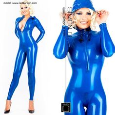 Lara Larsen.. I love this catsuit..WOW!!..                                                                                                                                                                                 More