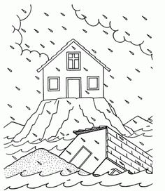 Sermons For Kids Coloring Pages… Sermons For Kids, Bible For Kids, Preschool Bible, Bible Activities, Sunday School Lessons, Sunday School Crafts, Sunday School Coloring Pages, Parables Of Jesus, Bible Crafts
