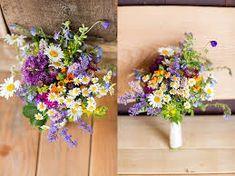 Bildergebnis für brautstrauß wiesenblumen