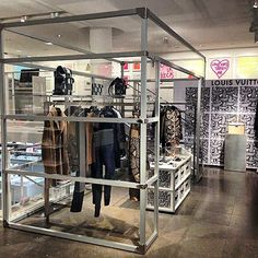 Louis Vuitton Nemeth pop up store at Colette with the A/W 2015/16 men's collection by Mens Artistic Director Kim Jones