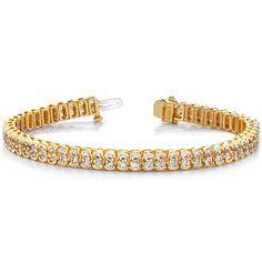 Diamantarmband 5.00 Karat aus 585er/750er Gelb- oder Weißgold  #diamantarmband #diamonds #diamante #diamanten #gold #schmuck #diamantschmuck #juwelier #abt #dortmund