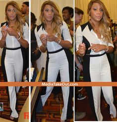 Looking GOOD!! Tamar Braxton Appears To Have Lost A GANG OF WEIGHT . . . She's Now SKINNIER Than Before She Got PREGNANT!!!