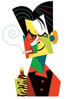 Charlie Sheen   por Pablo Lobato