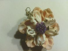 l.Seashell Flogmairal Key Chain / Pendant by Fromtheseacreations on Etsy, $20.00