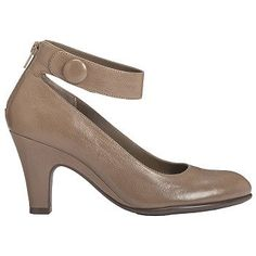 Aerosoles Drapery Shoes (Taupe Leather) - Women's Shoes - 8.0 M
