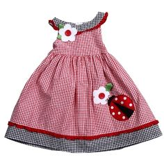 Good Lad Ladybug Dress