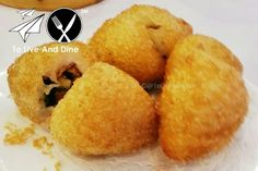 Golden Unicorn's Deep Fried Pork Buns. Review link in bio! http://ift.tt/1UANncf #ToLiveAndDine #Foodie #Travel #Wanderlust #Comedy #Blog