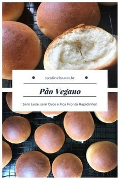 pão vegano, pao sem leite, pao sem ovos #pão #vegano #pãocaseiro #pãorapido