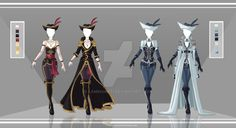 Adoptable Outfit Auction 42-43(closed) by LaminaNati.deviantart.com on @DeviantArt