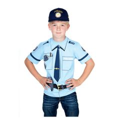 Unser Polizei T-Shirt für kompetentes Auftreten!