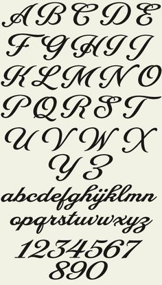 French script, Script fonts and Fonts on Pinterest