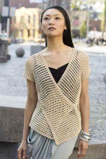 Tokyo Vest in Tahki Yarns Cotton Classic Lite