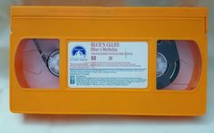 Blue's Clues - Blue's Birthday (VHS, 1998) Really Fun Games, Blues Clues, Blue Birthday, Cartoon Dog, Kids Videos, Birthday Presents, Live Action, A Good Man, Really Cool Stuff