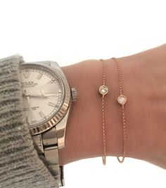Diamond Bezel Bracelet. We literally JUST got these in!