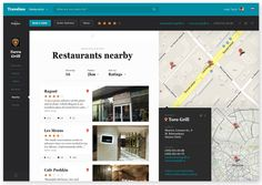 Travelmo by Leigh Taylor, via Behance #map #webdesign #inspiration #ux #ui