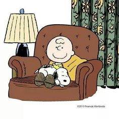 Snoopy and Charlie Brown. .time alone