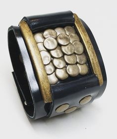 Joxasa Saxon leather cuff.