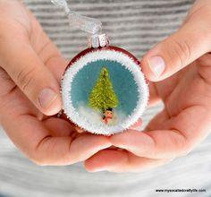 Adorable DIY Ornaments