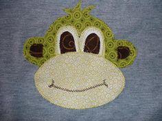 Free Applique Templates Patterns | Monkey Appliqué Pattern | AllPeopleQuilt.com Staff Blog