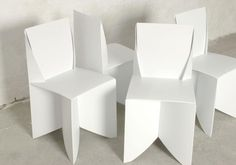 modern chair polyline