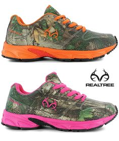 #New #RealtreeXtra #Camo Athletic Shoes for Kids. Coming Soon!!