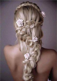 (3) beautiful hairstyles | Tumblr