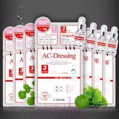 L'affair AC-DRESSING 3 step Skin Renewal Mask