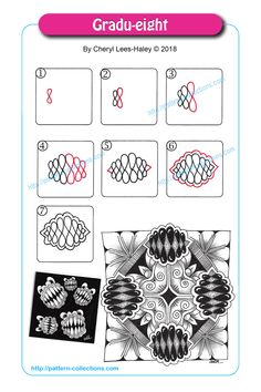 Manga Drawing Patterns Gradu-eight by Cheryl Lees-Haley -
