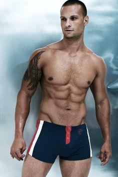 Mens Body Tech Racetrack Trunk - Medium, Yellow Men's Underwear from Body Tech, Chico Fitness, Male Physique, Swimsuits, Swimwear, Male Body, Swim Shorts, Sexy Men, Sexy Guys