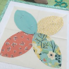 Hi there!!!   Today I'll be talking about appliquéing by hand...   using my Sew Simple Shapes   Yesterday I posted a tutorial about   u...