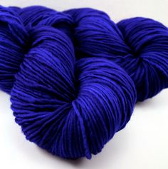 Cobalt Blue Yarn