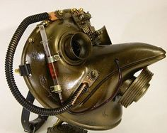 Steampunk Mask ''CHUMNYY DOCTOR-2""